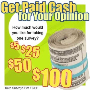 earn money online with survey
