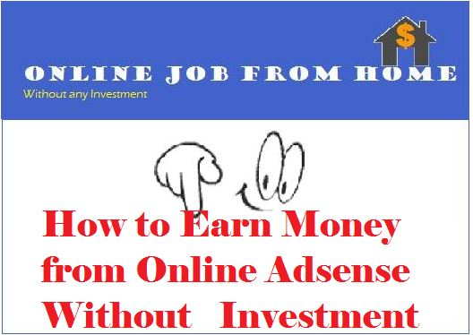 Earn Money from Online Adsense