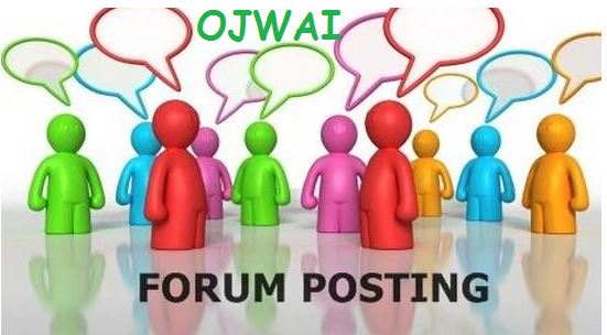 Simple Way to Earn Money By Forum Posting Jobs