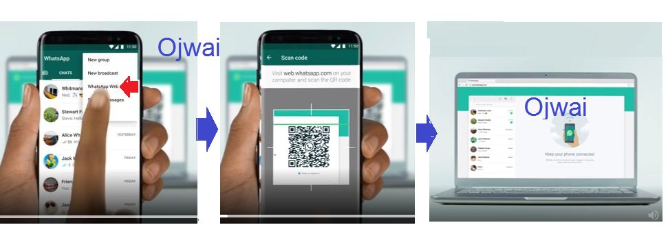 how to browse whatsapp on web